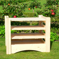 Wooden Fruit Storage Box