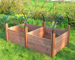 Cloche Hoops for Raised Beds
